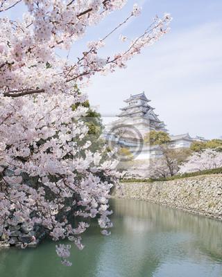 Вишни и замок весной, Япония, 20x25 см, на бумагеЯпония<br>Постер на холсте или бумаге. Любого нужного вам размера. В раме или без. Подвес в комплекте. Трехслойная надежная упаковка. Доставим в любую точку России. Вам осталось только повесить картину на стену!<br>