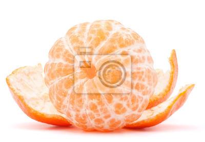Постер Еда и напитки Очищенный мандарин или фруктовых мандарина, 29x20 см, на бумагеМандарины<br>Постер на холсте или бумаге. Любого нужного вам размера. В раме или без. Подвес в комплекте. Трехслойная надежная упаковка. Доставим в любую точку России. Вам осталось только повесить картину на стену!<br>