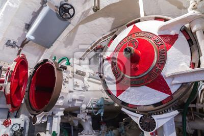 Торпедный отсек подводной лодки, 30x20 см, на бумаге11.27 День морской пехоты<br>Постер на холсте или бумаге. Любого нужного вам размера. В раме или без. Подвес в комплекте. Трехслойная надежная упаковка. Доставим в любую точку России. Вам осталось только повесить картину на стену!<br>