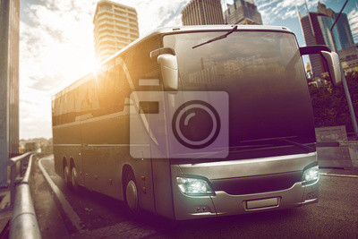 Постер Автобусы, троллейбусы