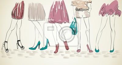 Постер Обувной магазин