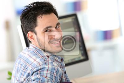 Постер 09.13 День программиста Студент в web-дизайн работа в офисе09.13 День программиста<br>Постер на холсте или бумаге. Любого нужного вам размера. В раме или без. Подвес в комплекте. Трехслойная надежная упаковка. Доставим в любую точку России. Вам осталось только повесить картину на стену!<br>