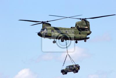 Постер-картина Фото-постеры Вертолет chinook, 30x20 см, на бумагеВертолеты<br>Постер на холсте или бумаге. Любого нужного вам размера. В раме или без. Подвес в комплекте. Трехслойная надежная упаковка. Доставим в любую точку России. Вам осталось только повесить картину на стену!<br>
