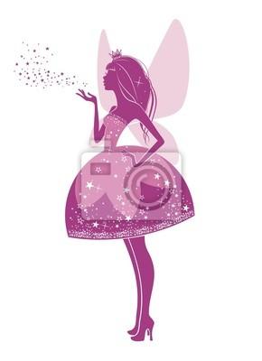 Постер Разные детские постеры Вошебная фея в розовомРазные детские постеры<br>Постер на холсте или бумаге. Любого нужного вам размера. В раме или без. Подвес в комплекте. Трехслойная надежная упаковка. Доставим в любую точку России. Вам осталось только повесить картину на стену!<br>