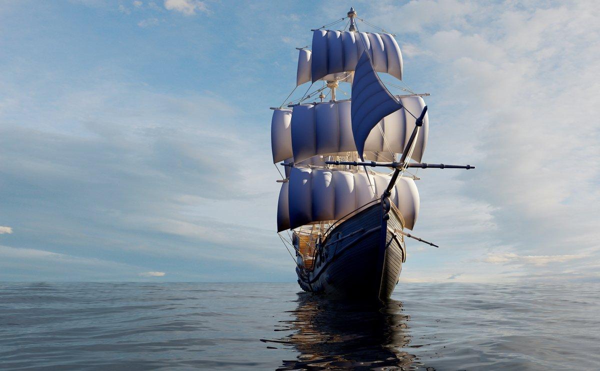 Постер Корабли
