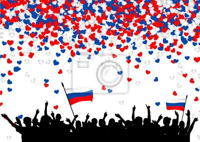 Постер 08.22 День государственного флага Российской Федерации Fu?ball - Russland08.22 День государственного флага Российской Федерации<br>Постер на холсте или бумаге. Любого нужного вам размера. В раме или без. Подвес в комплекте. Трехслойная надежная упаковка. Доставим в любую точку России. Вам осталось только повесить картину на стену!<br>
