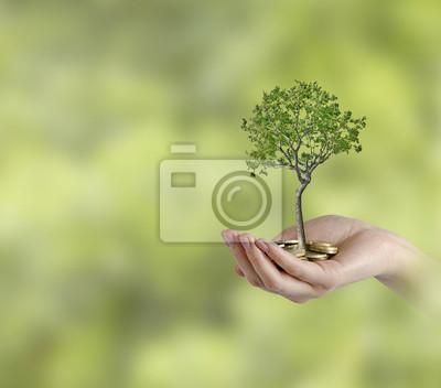 Инвестиции в  зеленый  бизнес, 23x20 см, на бумаге12.02 День банковского работника<br>Постер на холсте или бумаге. Любого нужного вам размера. В раме или без. Подвес в комплекте. Трехслойная надежная упаковка. Доставим в любую точку России. Вам осталось только повесить картину на стену!<br>
