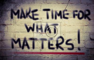 Постер-картина Мотивационный плакат Выкроить Время На То, Что Имеет Значение КонцепцииМотивационный плакат<br>Постер на холсте или бумаге. Любого нужного вам размера. В раме или без. Подвес в комплекте. Трехслойная надежная упаковка. Доставим в любую точку России. Вам осталось только повесить картину на стену!<br>