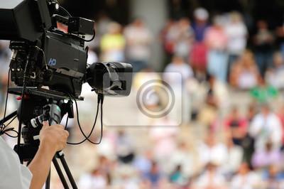 Постер Праздники Телевизионная камера, 30x20 см, на бумаге10.23 День работников рекламы<br>Постер на холсте или бумаге. Любого нужного вам размера. В раме или без. Подвес в комплекте. Трехслойная надежная упаковка. Доставим в любую точку России. Вам осталось только повесить картину на стену!<br>