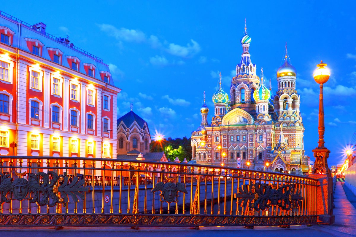 Постер Санкт-Петербург