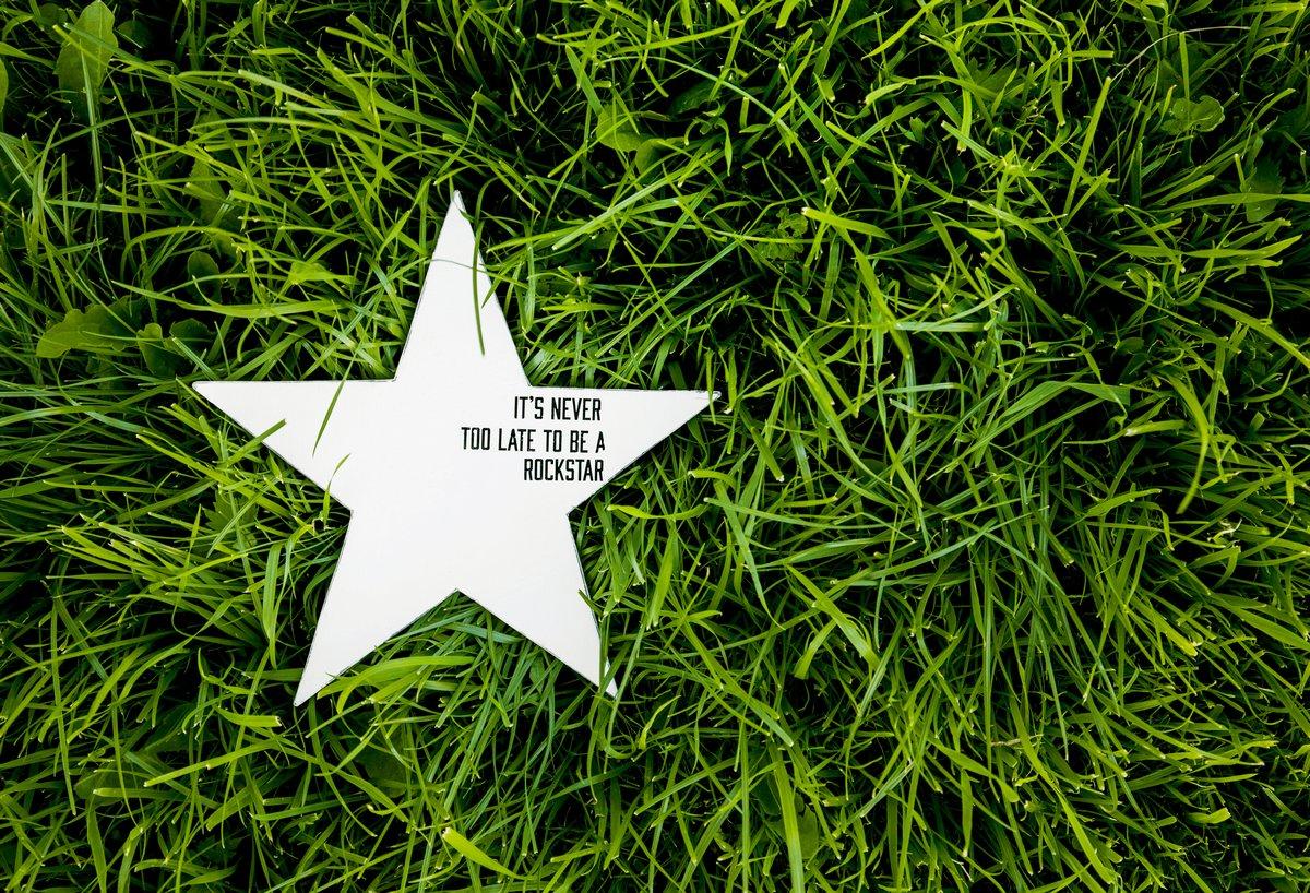 Постер-картина Мотивационный плакат Деревенская звезда. украшение на траве с вдохновляющие цитатыМотивационный плакат<br>Постер на холсте или бумаге. Любого нужного вам размера. В раме или без. Подвес в комплекте. Трехслойная надежная упаковка. Доставим в любую точку России. Вам осталось только повесить картину на стену!<br>