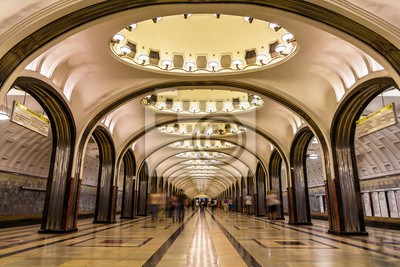 Постер-картина Метро Станция метро Маяковская в Москве, РоссияМетро<br>Постер на холсте или бумаге. Любого нужного вам размера. В раме или без. Подвес в комплекте. Трехслойная надежная упаковка. Доставим в любую точку России. Вам осталось только повесить картину на стену!<br>