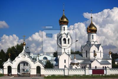 Постер Новосибирск Белый монастырь под НовосибирскомНовосибирск<br>Постер на холсте или бумаге. Любого нужного вам размера. В раме или без. Подвес в комплекте. Трехслойная надежная упаковка. Доставим в любую точку России. Вам осталось только повесить картину на стену!<br>