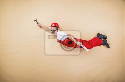 Постер Строительные рабочие Постер 73780617, 30x20 см, на бумагеСтроительные рабочие<br>Постер на холсте или бумаге. Любого нужного вам размера. В раме или без. Подвес в комплекте. Трехслойная надежная упаковка. Доставим в любую точку России. Вам осталось только повесить картину на стену!<br>