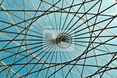 Постер-картина На потолок Геометрические и абстрактные крыша сделана из стекла .На потолок<br>Постер на холсте или бумаге. Любого нужного вам размера. В раме или без. Подвес в комплекте. Трехслойная надежная упаковка. Доставим в любую точку России. Вам осталось только повесить картину на стену!<br>