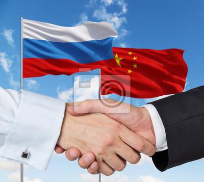 Китайцев в российские флаги, 22x20 см, на бумагеБизнес<br>Постер на холсте или бумаге. Любого нужного вам размера. В раме или без. Подвес в комплекте. Трехслойная надежная упаковка. Доставим в любую точку России. Вам осталось только повесить картину на стену!<br>
