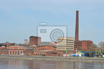 Постер Старые заводы и фабрики