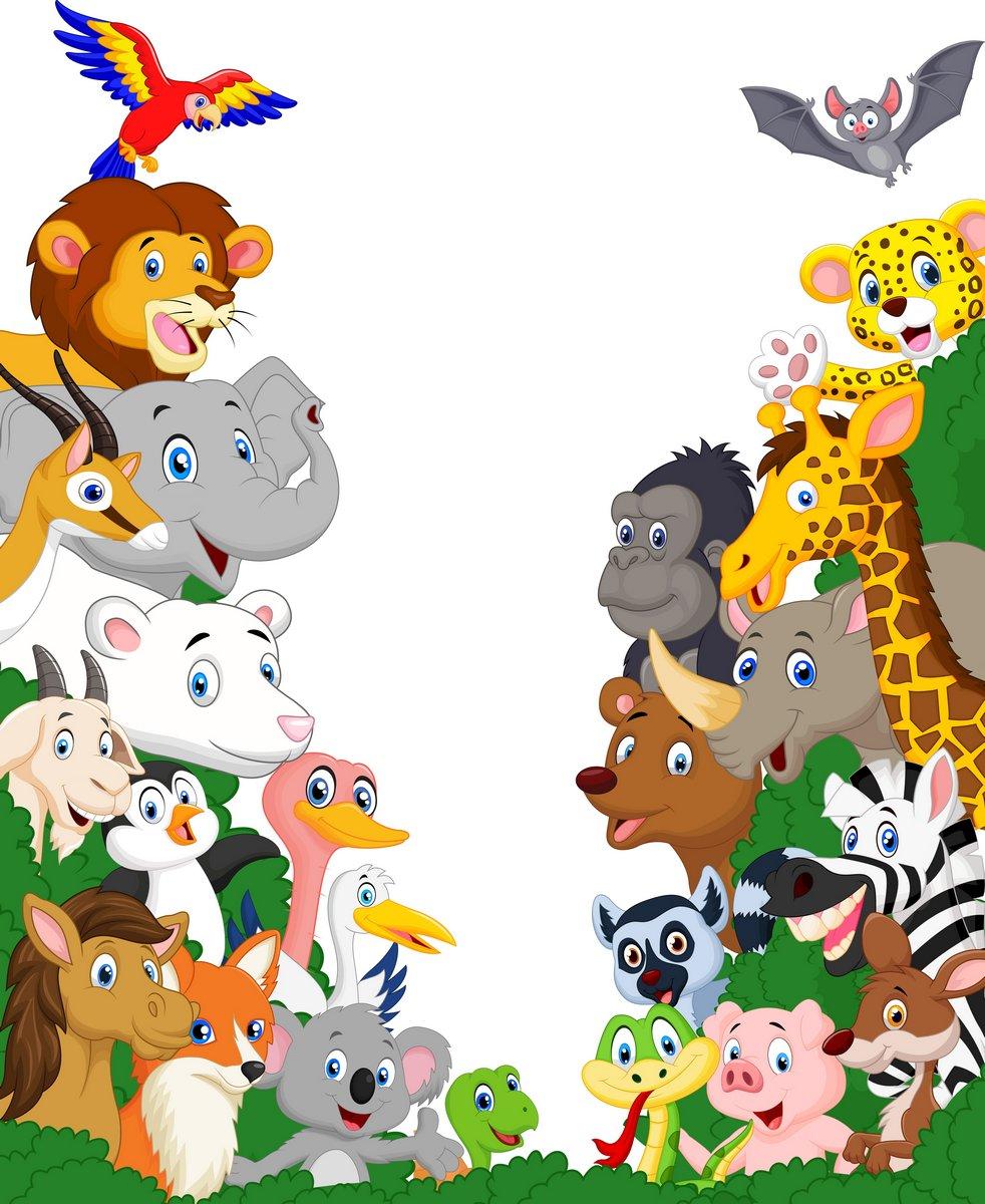 Постер Разные детские постеры Дикое животное фонеРазные детские постеры<br>Постер на холсте или бумаге. Любого нужного вам размера. В раме или без. Подвес в комплекте. Трехслойная надежная упаковка. Доставим в любую точку России. Вам осталось только повесить картину на стену!<br>