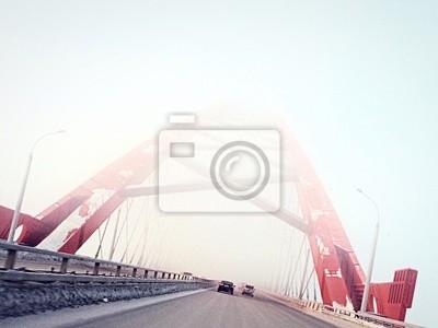Постер Новосибирск Туман, мостНовосибирск<br>Постер на холсте или бумаге. Любого нужного вам размера. В раме или без. Подвес в комплекте. Трехслойная надежная упаковка. Доставим в любую точку России. Вам осталось только повесить картину на стену!<br>