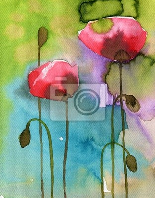 Цветы в современной живописи, картина Маки, красные,Цветы в современной живописи<br>Репродукция на холсте или бумаге. Любого нужного вам размера. В раме или без. Подвес в комплекте. Трехслойная надежная упаковка. Доставим в любую точку России. Вам осталось только повесить картину на стену!<br>