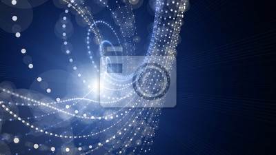 Постер Футуристический дизайн фона с подсветкойДвижение энергии, абстракции<br>Постер на холсте или бумаге. Любого нужного вам размера. В раме или без. Подвес в комплекте. Трехслойная надежная упаковка. Доставим в любую точку России. Вам осталось только повесить картину на стену!<br>