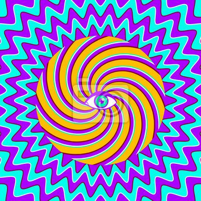 Постер-картина Оптическое искусство Гипнотический плакатОптическое искусство<br>Постер на холсте или бумаге. Любого нужного вам размера. В раме или без. Подвес в комплекте. Трехслойная надежная упаковка. Доставим в любую точку России. Вам осталось только повесить картину на стену!<br>