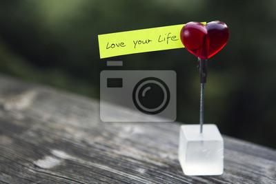 Постер-картина Мотивационный плакат Рукописной цитатой: любовь твоей жизниМотивационный плакат<br>Постер на холсте или бумаге. Любого нужного вам размера. В раме или без. Подвес в комплекте. Трехслойная надежная упаковка. Доставим в любую точку России. Вам осталось только повесить картину на стену!<br>