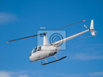 Постер-картина Вертолеты Вертолет летит в синем небеВертолеты<br>Постер на холсте или бумаге. Любого нужного вам размера. В раме или без. Подвес в комплекте. Трехслойная надежная упаковка. Доставим в любую точку России. Вам осталось только повесить картину на стену!<br>