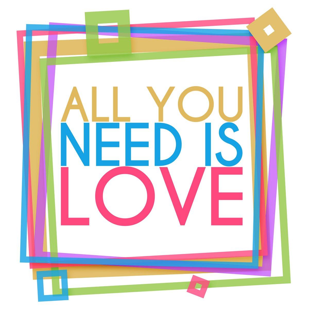 Постер-картина Мотивационный плакат Все, Что Вам Нужно, Это Любовь Яркими КадрМотивационный плакат<br>Постер на холсте или бумаге. Любого нужного вам размера. В раме или без. Подвес в комплекте. Трехслойная надежная упаковка. Доставим в любую точку России. Вам осталось только повесить картину на стену!<br>