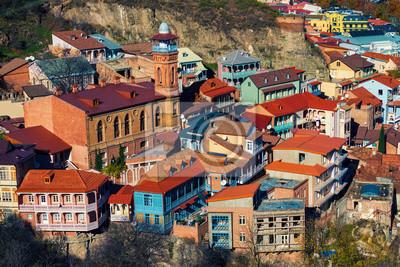 Постер Тбилиси View of Tbilisi city, Georgia countryТбилиси<br>Постер на холсте или бумаге. Любого нужного вам размера. В раме или без. Подвес в комплекте. Трехслойная надежная упаковка. Доставим в любую точку России. Вам осталось только повесить картину на стену!<br>