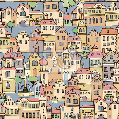Постер Современный городской пейзаж Дома в голландском стилеСовременный городской пейзаж<br>Постер на холсте или бумаге. Любого нужного вам размера. В раме или без. Подвес в комплекте. Трехслойная надежная упаковка. Доставим в любую точку России. Вам осталось только повесить картину на стену!<br>