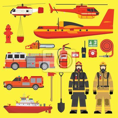 Постер Пожарная безопасность Пожарной части оборудования набор инфографикиПожарная безопасность<br>Постер на холсте или бумаге. Любого нужного вам размера. В раме или без. Подвес в комплекте. Трехслойная надежная упаковка. Доставим в любую точку России. Вам осталось только повесить картину на стену!<br>