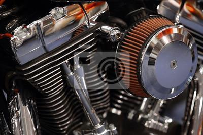 Двигатель мотоцикла, 30x20 см, на бумагеМотоциклы<br>Постер на холсте или бумаге. Любого нужного вам размера. В раме или без. Подвес в комплекте. Трехслойная надежная упаковка. Доставим в любую точку России. Вам осталось только повесить картину на стену!<br>