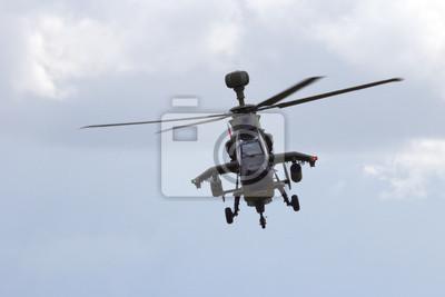 Постер-картина Фото-постеры Европейский боевой вертолет, 30x20 см, на бумагеВертолеты<br>Постер на холсте или бумаге. Любого нужного вам размера. В раме или без. Подвес в комплекте. Трехслойная надежная упаковка. Доставим в любую точку России. Вам осталось только повесить картину на стену!<br>