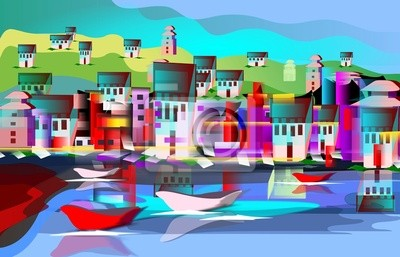 Средиземноморье, современный пейзаж Paesaggio МарьиноСредиземноморье, современный пейзаж<br>Репродукция на холсте или бумаге. Любого нужного вам размера. В раме или без. Подвес в комплекте. Трехслойная надежная упаковка. Доставим в любую точку России. Вам осталось только повесить картину на стену!<br>