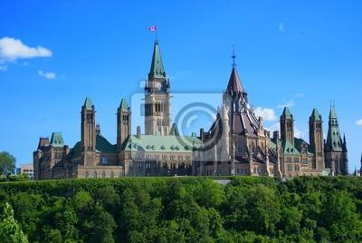 Постер Оттава Правительство Канады Здания парламентаОттава<br>Постер на холсте или бумаге. Любого нужного вам размера. В раме или без. Подвес в комплекте. Трехслойная надежная упаковка. Доставим в любую точку России. Вам осталось только повесить картину на стену!<br>