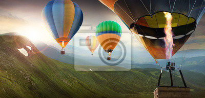 Постер Воздушные шары