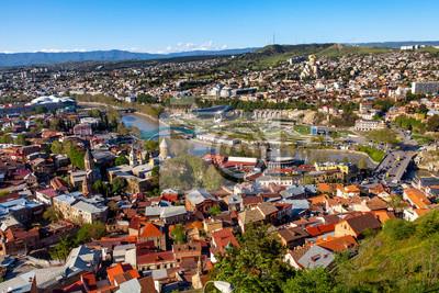 Постер Тбилиси Tbilisi, GeorgiaТбилиси<br>Постер на холсте или бумаге. Любого нужного вам размера. В раме или без. Подвес в комплекте. Трехслойная надежная упаковка. Доставим в любую точку России. Вам осталось только повесить картину на стену!<br>
