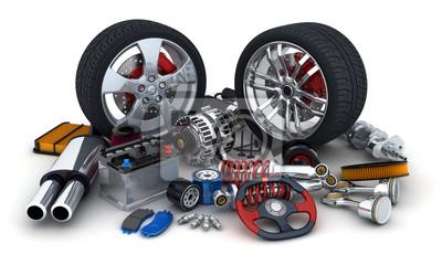 Постер Автомобильная промышленность