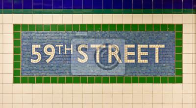 59-я улица метро площади Колумба, Нью-Йорк, 36x20 см, на бумагеМетро<br>Постер на холсте или бумаге. Любого нужного вам размера. В раме или без. Подвес в комплекте. Трехслойная надежная упаковка. Доставим в любую точку России. Вам осталось только повесить картину на стену!<br>