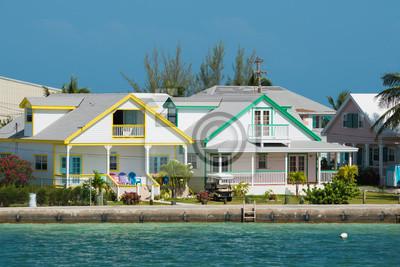 Постер Архитектура Архитектура-ауф-ден-Багамские острова, 30x20 см, на бумагеДом у моря<br>Постер на холсте или бумаге. Любого нужного вам размера. В раме или без. Подвес в комплекте. Трехслойная надежная упаковка. Доставим в любую точку России. Вам осталось только повесить картину на стену!<br>