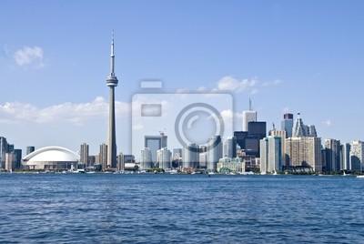 Постер Торонто В Торонто SkylineТоронто<br>Постер на холсте или бумаге. Любого нужного вам размера. В раме или без. Подвес в комплекте. Трехслойная надежная упаковка. Доставим в любую точку России. Вам осталось только повесить картину на стену!<br>