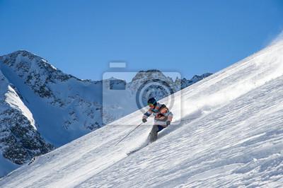 Постер Лыжи