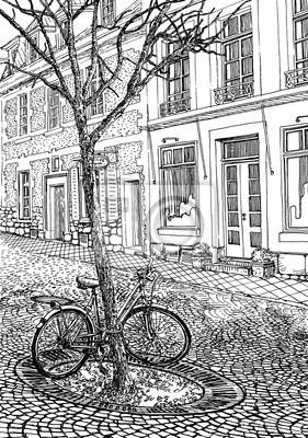 Постер Велосипеды