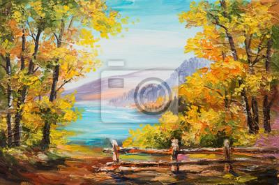 Пейзажи Постер 93529652, 30x20 см, на бумагеПейзаж горный в современной живописи<br>Постер на холсте или бумаге. Любого нужного вам размера. В раме или без. Подвес в комплекте. Трехслойная надежная упаковка. Доставим в любую точку России. Вам осталось только повесить картину на стену!<br>