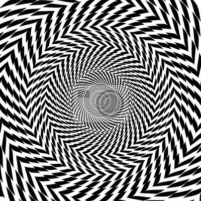 Постер-картина Оптическое искусство Вектор оптическая иллюзия зум черно-белый гипнотический фонОптическое искусство<br>Постер на холсте или бумаге. Любого нужного вам размера. В раме или без. Подвес в комплекте. Трехслойная надежная упаковка. Доставим в любую точку России. Вам осталось только повесить картину на стену!<br>