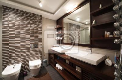 Постер Оформление офиса Интерьер ванной комнаты, 31x20 см, на бумагеСалон сантехники<br>Постер на холсте или бумаге. Любого нужного вам размера. В раме или без. Подвес в комплекте. Трехслойная надежная упаковка. Доставим в любую точку России. Вам осталось только повесить картину на стену!<br>