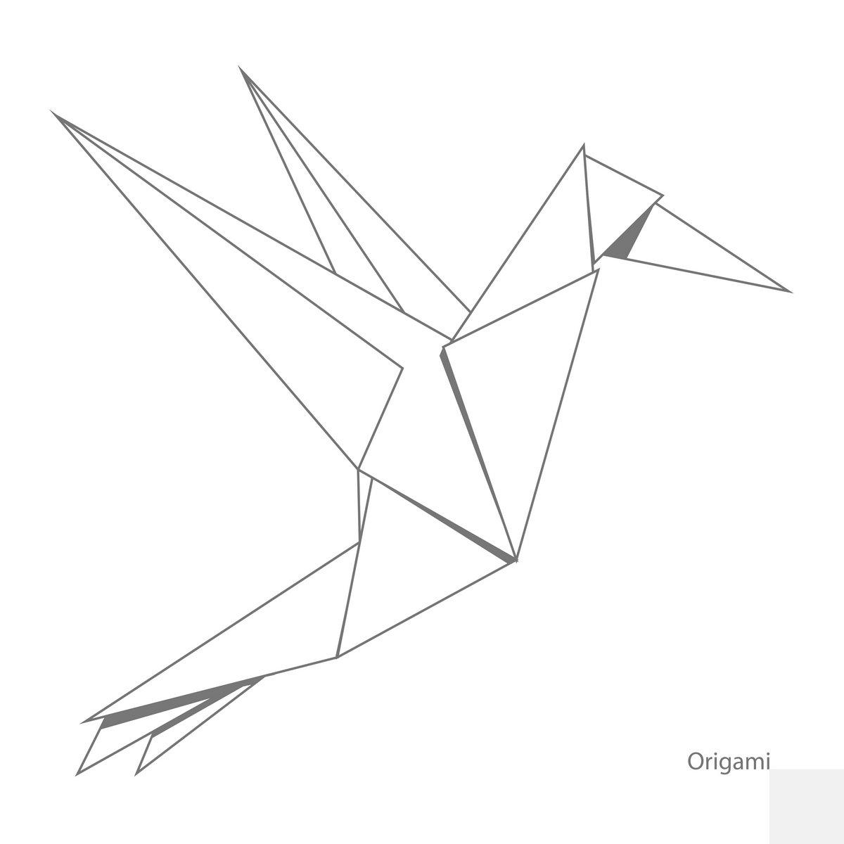 Постер-картина Минимализм Оригами из бумаги птица-векторная иллюстрацияМинимализм<br>Постер на холсте или бумаге. Любого нужного вам размера. В раме или без. Подвес в комплекте. Трехслойная надежная упаковка. Доставим в любую точку России. Вам осталось только повесить картину на стену!<br>