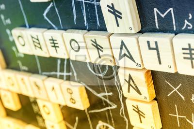 Постер-картина Иероглифы HieroglyphesИероглифы<br>Постер на холсте или бумаге. Любого нужного вам размера. В раме или без. Подвес в комплекте. Трехслойная надежная упаковка. Доставим в любую точку России. Вам осталось только повесить картину на стену!<br>