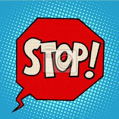 Постер-картина Смешные таблички Знак стоп, предупреждающий символСмешные таблички<br>Постер на холсте или бумаге. Любого нужного вам размера. В раме или без. Подвес в комплекте. Трехслойная надежная упаковка. Доставим в любую точку России. Вам осталось только повесить картину на стену!<br>